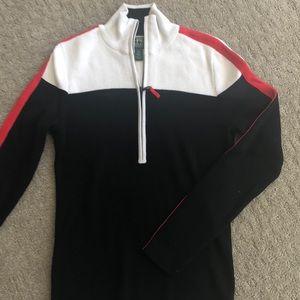 Lauren Active/ Ralph Lauren zip sweater